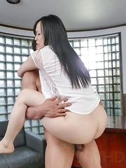 Yuka Wakatsuki Asian has beaver licked and fucked all the way